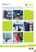 Sottostazioni di teleraffrescamento modello Biella Amarc DHS.