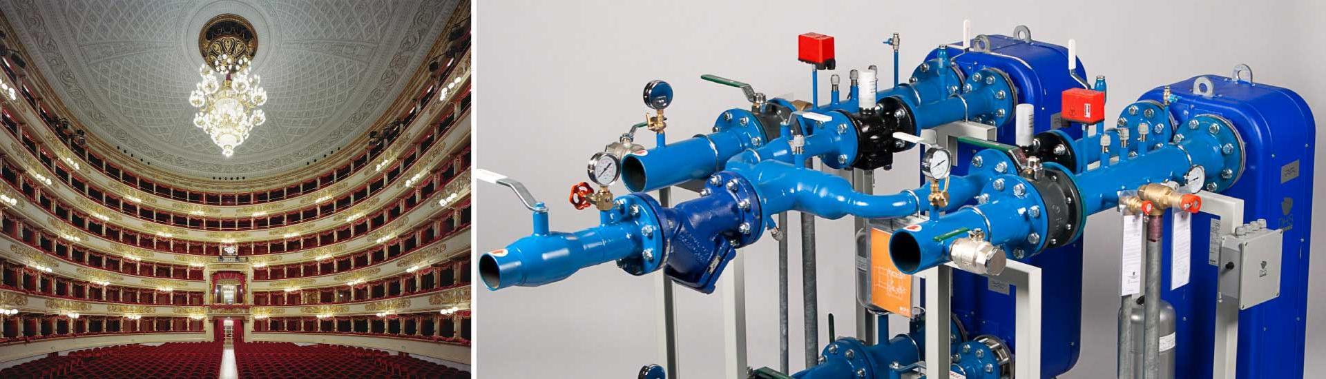 AMARC DHS substations heat the TEATRO ALLA SCALA