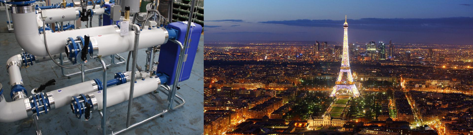 AMARC DHS riscalda alcuni quartieri di Parigi